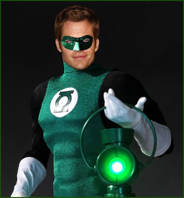Chris Pine as Green Lantern