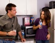Jason Bateman and Mila Kunas in Extract