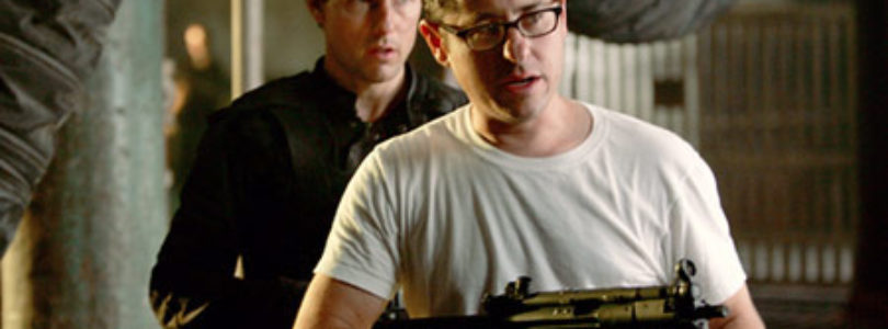 JJ Abrams and Tom Cruise