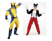 Wolverine VS Mickey Mouse
