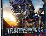 Transformers 2: Revenge of the Fallen Blu-ray Cover Art