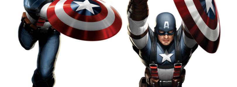 Chris Evans as 'Captain America' Concept Art