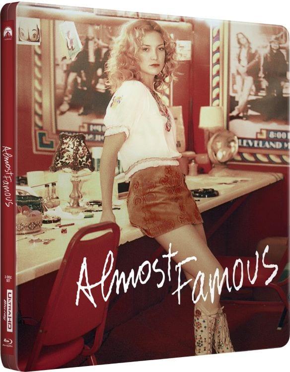Almost Famous - Steelbook Artwork