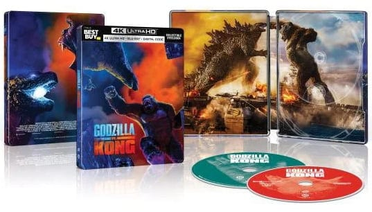 Godzilla vs Kong - Steelbook Artwork