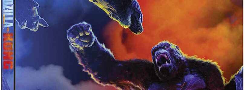 *Updated – Godzilla vs Kong 4K Street Date and Steelbook Art