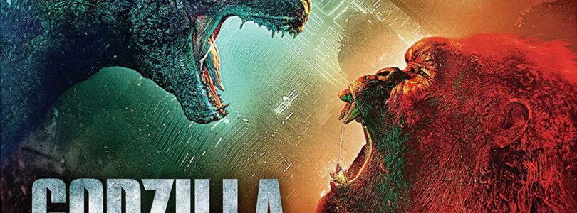Godzilla vs. Kong 4k cover art