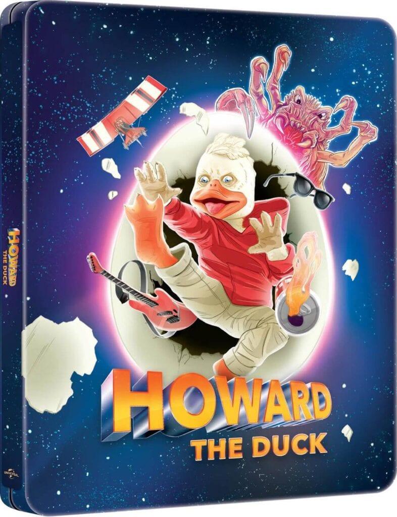 Howard the Duck - Steelbook Artwork
