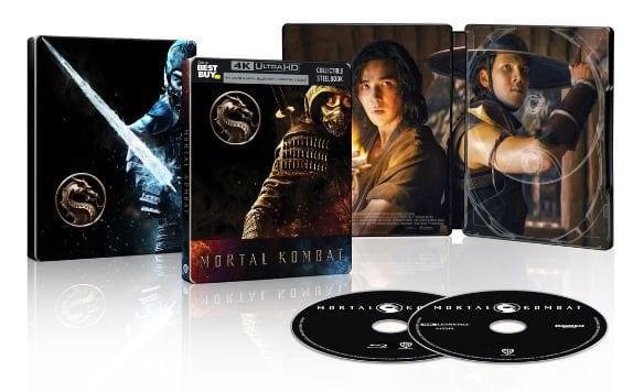 Mortal Kombat - Steelbook Artwork