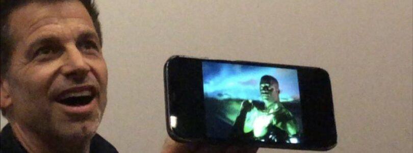 ZSJL Green Lantern Costume Revealed