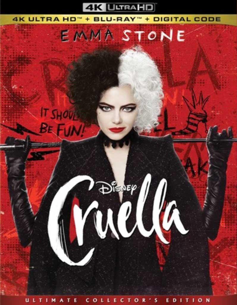 Cruella - 4K UltraHD Cover Art