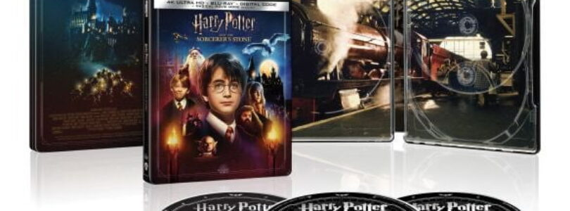 *Updated – Harry Potter Steelbook for 20th Anniversary