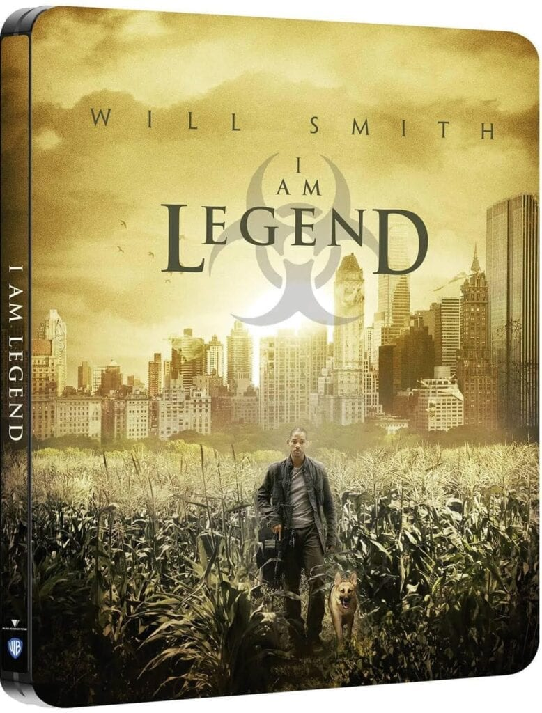I Am Legend - Steelbook Artwork