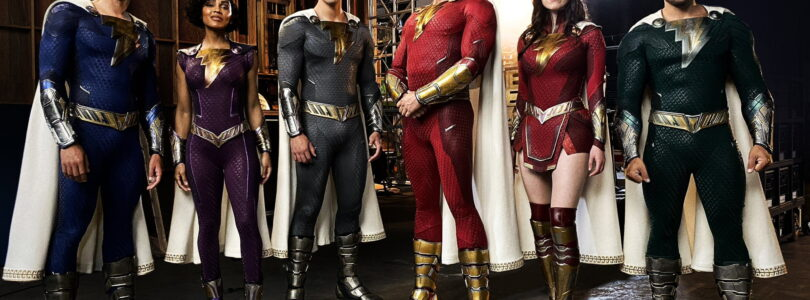 First Look at the New Suits in Shazam!: Fury of the Gods