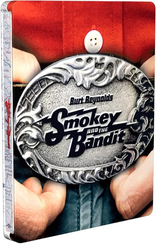 Smokey and the Bandit - Steelbook Artwork