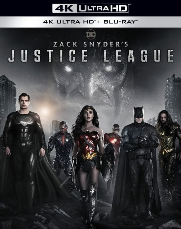 Zack Snyder's Justice League 4K Cover Art