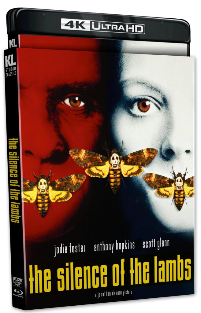The Silence of the Lambs 4K Cover Art