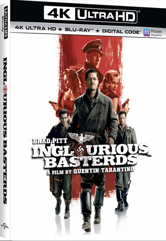 Inglourious Basterds 4K Cover Art