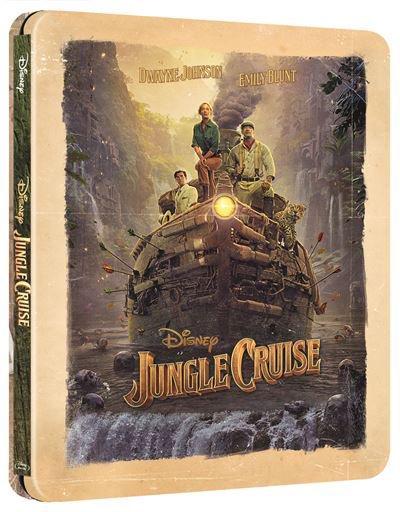 Jungle Cruise Steelbook 4K