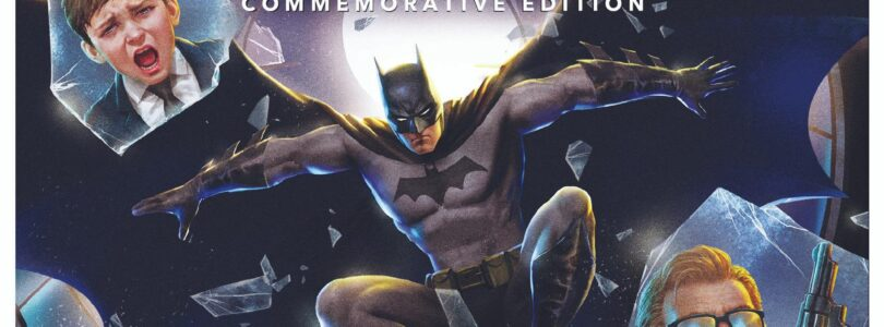 Batman Year One Commemorative Edition 4K Cover Art