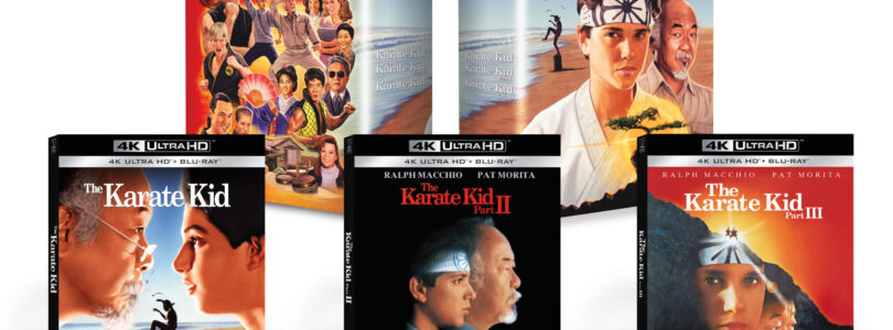 The Karate Kid 4K Collection This December