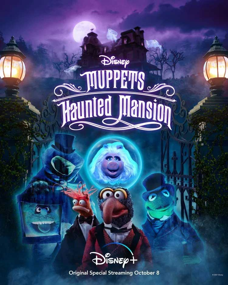 Muppets Haunted Mansion Poster